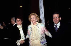 Tina Sinatra, with  Barbara Marx, Frank Sinatra Jr. © 1983 Gunther - Image 0337_1358