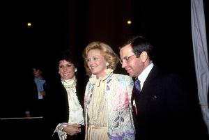 Tina Sinatra with Barbara Marx and Frank Sinatra Jr. © 1983 Gunther - Image 0337_1360