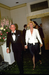 "Frank Sinatra with wife Barbara Marx at ""Man Of The Year"" Awards © 1979 Gunther - Image 0337_1363"