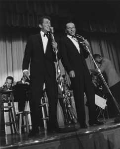 Frank Sinatra & Dean MartinPerforming in Palm Springs CACirca 1963 © 1978 David Sutton - Image 0337_1450