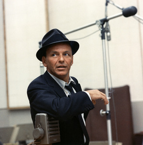 Frank Sinatra at a Capitol Records recording session in Los Angeles, CA1954 © 1978 Sid Avery - Image 0337_1452