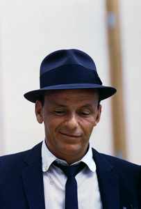 Frank Sinatra at a Capitol Records recording session in Los Angeles, CA1954 © 1978 Sid Avery - Image 0337_1455