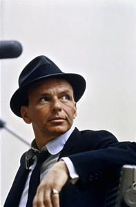 Frank Sinatra at a Capitol Records recording session in Los Angelescirca 1954© 1978 Sid Avery - Image 0337_1456