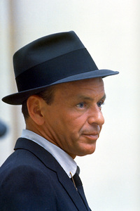Frank Sinatra at a recording session for Capitol Records, c. 1954. © 1978 Sid Avery - Image 0337_1458
