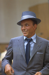 Frank Sinatra at a recording session for Capitol Records, c. 1954. © 1978 Sid Avery - Image 0337_1463