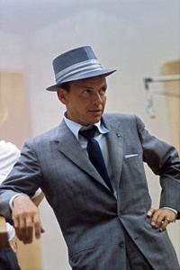 Frank Sinatra at a Capitol Records recording session circa 1954 © 1978 Sid Avery - Image 0337_1464