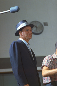 Frank Sinatra at a recording session for Capitol Records, c. 1953. © 1978 Sid Avery - Image 0337_1467