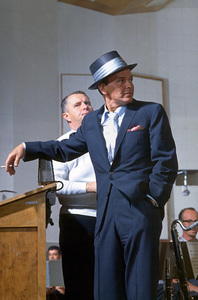 Frank Sinatra c. 1954 Recording Session at Capitol Records. © 1978 Sid Avery - Image 0337_1468