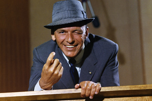 """Frank Sinatra at a Capitol Records album cover shoot for """"Come Dance With Me!""""1959© 1978 Sid Avery - Image 0337_1469"""