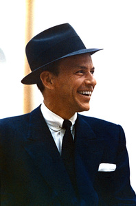 Frank Sinatra in a recording session at Capitol Records circa 1954 © 1978 Sid Avery - Image 0337_1492