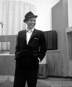 """Frank Sinatra 1959 Recording Session """"Look To Your Heart"""" Capitol Records / © 1978 Sid Avery - Image 0337_1497"""