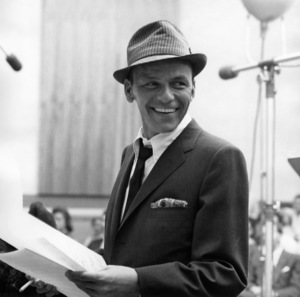 """Frank Sinatra Recording session """"Come Dance with Me"""" at Capitol Records1959© 1978 Sid Avery - Image 0337_1501"""