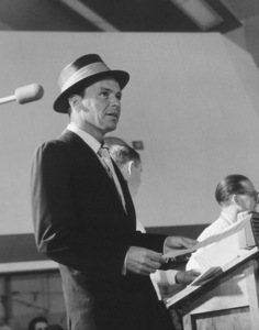 Frank Sinatra At a recording session for Capitol Records, c. 1954. © 1978 Sid Avery - Image 0337_1503