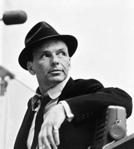 Frank Sinatra at a Capitol Records recording session in Los Angelescirca 1954© 1978 Sid Avery - Image 0337_1508