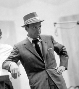 Frank Sinatra c. 1954 Recording Session Capitol Records / © 1978 Sid Avery - Image 0337_1518