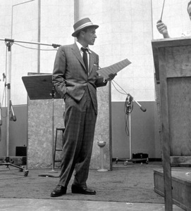 Frank Sinatra c. 1954 Recording Session Capitol Records / © 1978 Sid Avery - Image 0337_1519