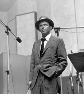 Frank Sinatra c. 1954 Recording Session Capitol Records / © 1978 Sid Avery - Image 0337_1522