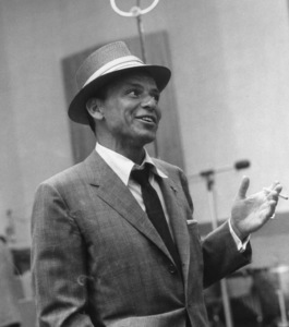 Frank Sinatra at a Capitol Records recording session1954 © 1978 Sid Avery - Image 0337_1523