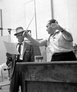 Frank Sinatra c. 1954 Recording Session with Felix Slatkin Capitol Records / © 1978 Sid Avery - Image 0337_1524