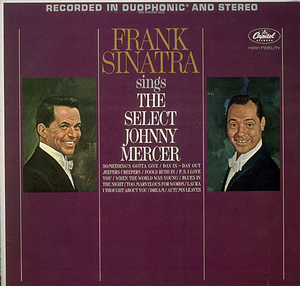 """""""Frank Sinatra Sings The Select Johnny Mercer""""Captiol Records - Image 0337_1577"""