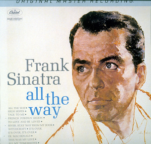 """Frank Sinatra""""All The Way""""Capitol Records - Image 0337_1589"""