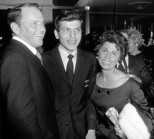 Frank Sinatra, Frank Sinatra Jr., and Nancy 1963 © 1978 David Sutton - Image 0337_1605