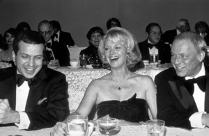 Frank Sinatra with wife Barbara and son Frank Sinatra Jr. at Scopus Awards, 1976. © 1978 David Sutton - Image 0337_1606