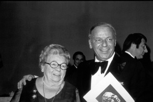 Frank Sinatra with Mother, Dolly at Scopus Awards, 1976. © 1978 David Sutton - Image 0337_1608