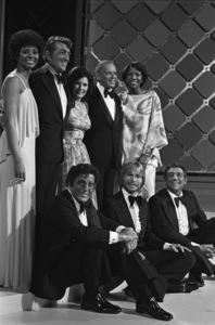 """""""Sinatra and Friends""""Leslie Uggams, Dean Martin, Loretta Lynn, Frank Sinatra, Natalie Cole, Tony Bennett, John Denver, Robert Merrill1977 © 1978 Bud Gray - Image 0337_1638"""