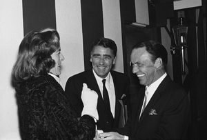 Frank Sinatra with Peter Lawford and Patricia Kennedy Lawfordcirca 1962 © 1978 Bernie Abramson - Image 0337_1649