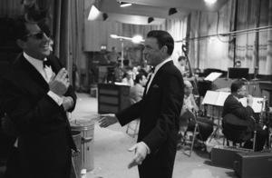 """The Judy Garland Show""Dean Martin, Frank Sinatra 1962 © 1978 Bob Willoughby  - Image 0337_1696"