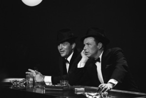 """The Judy Garland Show""Dean Martin, Frank Sinatra 1962 © 1978 Bob Willoughby  - Image 0337_1698"