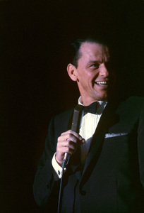 Frank Sinatra performing at the Sands Hotel in Las Vegas1960© 1978 Bob Willoughby - Image 0337_1710