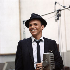 Frank Sinatra at a Capitol Records recording session in Los Angelescirca 1954© 1978 Sid Avery - Image 0337_1725