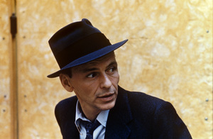 Frank Sinatra at a Capitol Records recording sessioncirca 1957 © 1978 Sid Avery - Image 0337_1731