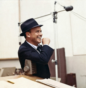 Frank Sinatra at a Capitol Records recording session in Los Angeles circa 1954 © 1978 Sid Avery - Image 0337_1788