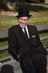 "Frank Sinatra after the recording session for ""The Man with the Golden Arm""1955© 1978 Bob Willoughby - Image 0337_1825"