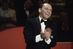 "Frank Sinatra on the television special ""Frank Sinatra: A Man and His Music + Ella + Jobim""1967 © 1978 Ed Thrasher - Image 0337_1840"