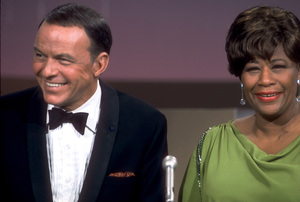 """Frank Sinatra and Ella Fitzgerald on NBC TV Special """"A Man and His Music"""" / 1967 © 1978 Ed Thrasher / MPTV - Image 0337_1842"""