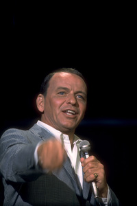 """Frank Sinatra on NBC TV Special """"A Man and His Music""""1967 © 1978 Ed Thrasher / MPTV - Image 0337_1848"""