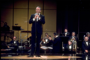 Frank Sinatra on a NBC TV Special 1969 © 1978 Ed Thrasher  - Image 0337_1873