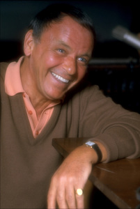 """Frank Sinatra at the Reprise recording session of """"Ol"""