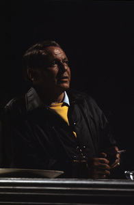 """Frank Sinatra rehearsing for the television special """"Ol"""