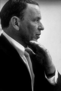 Frank Sinatra at a Repriserecording session / 1967 © 1978 Ed Thrasher - Image 0337_2007