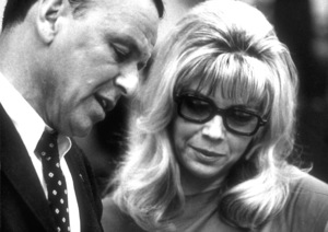Frank Sinatra with Nancy Sinatra at a Reprise recording session / 1967 © 1978 Ed Thrasher - Image 0337_2012