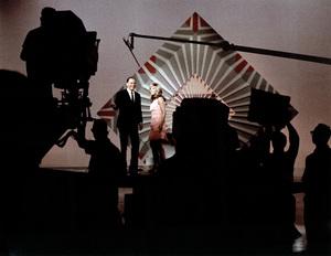 Frank Sinatra with Nancy Sinatra on a television specialcirca 1967 © 1978 Ed Thrasher - Image 0337_2016