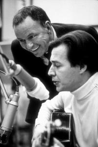 Frank Sinatra with Antonio Carlos Jobimat a Reprise recording session / 1969 © 1978 Ed Thrasher - Image 0337_2020