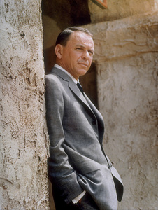 """Frank Sinatra on the set of """"Marriage on the Rocks"""" / 1965 © 1978 Ed Thrasher - Image 0337_2060"""