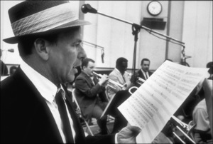 Frank Sinatra at a recording session, 1964. © 1978 Ed Thrasher - Image 0337_2094