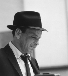 Frank Sinatra at a Capitol Records recording session, c. 1954 © 1978 Sid Avery - Image 0337_2114